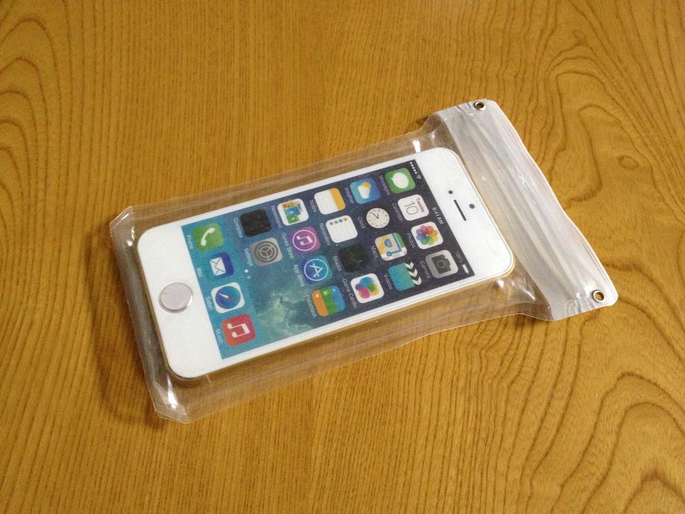 iPhone 防滴ケース